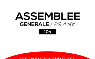 Assemblée générale 2019/2020